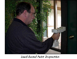Cns environmental lead for Lead based paint inspection